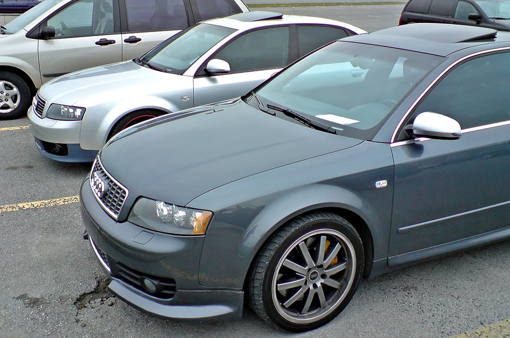 What front lip is this for Garage audi 93